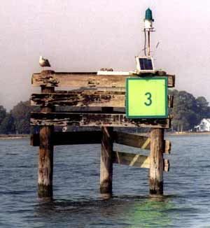 Chesapeake Bay Navigation Marker